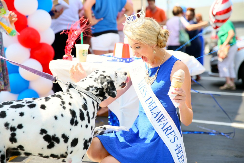 Miss Teen Delaware Ice Cream Delight
