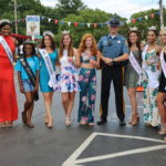 Beauty Queen and Public Servants on Ice Cream Day